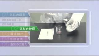 脂質の定量分析