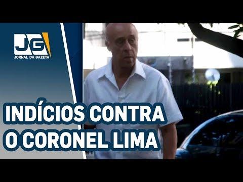 PF encontra novos indícios contra o coronel Lima