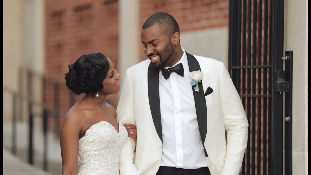The Way He Looks At Her Will Make You Ugly Cry Allure Bridals Wedding Dress One Story Films