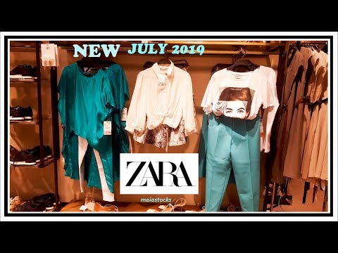 #ZARA PREFALL NEW COLLECTION #July2019 I Ladies, Shoes, Bags and Accessories