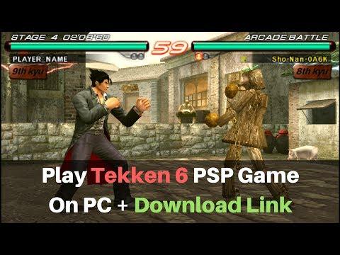 Download Tekken 6 For PC Free Full Version (PPSSPP + ROM)