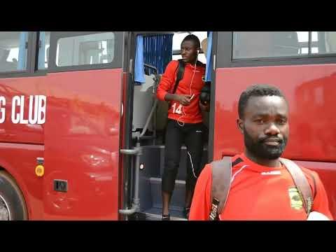 Asante Kotoko team arrives in Sunyani for Berekum Chelsea clash