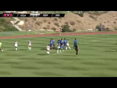 UCLA W. Soccer vs. Pepperdine Highlights