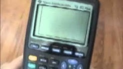 How To DRAW On Your CALCULATOR!