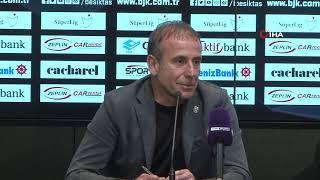 Abdullah Avcı'nın maç sonu açıklamaları | Beşiktaş 1-1 Başakşehir
