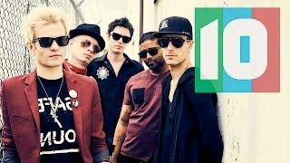 "Top 10 Music presents ""Top 10 Sum 41 Songs."" Shoutout to Marco Zert..."