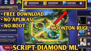 SCRIPT DIAMOND MOBILEGENDS TERBARU 23 OKTOBER
