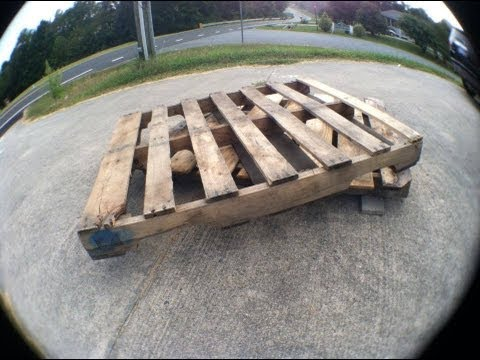 Finding Pallets for Easy DIY Woodworking Projects - YouTube