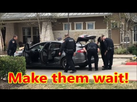 Spring,Tx.-Montgomery County Deputies Being Inconsiderate