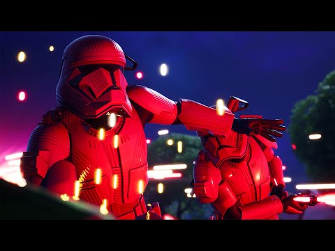 SITH TROOPER DUELS (Star Wars Fortnite Event) |
