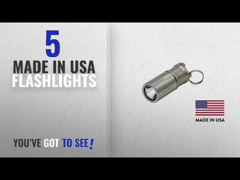 Top 5 Made In Usa Flashlights [2018]: Maratac Peanut LED - Rechargeable Lithium Ion Battery Keychain