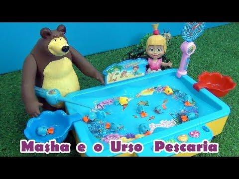 Masha e o Urso PESCARIA -  Masha and The Bear FISHING