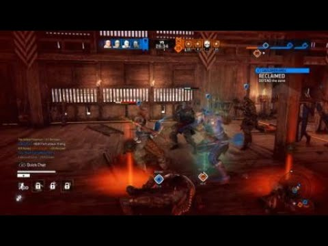 For Honor Three Monk Strike Bash