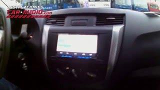 Instalación radio Nissan Frontier 2016 2 din Pioneer Android Auto