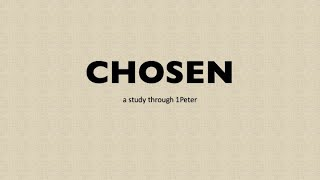 """May16th, 2021 Chosen """" The Good Life""""  Pastor Kelly Shares With Us Today"""