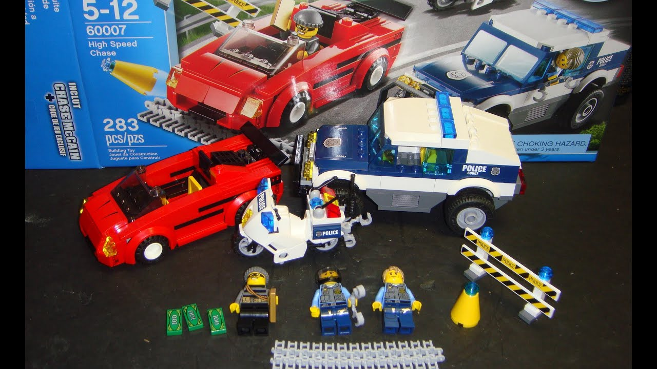 lego city police car instructions 60138