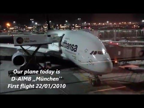 Lufthansa | A380-800 | Economy Class | Frankfurt - Hong Kong | *full flight*