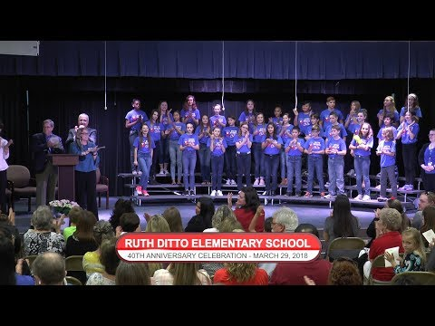 Ruth Ditto Elementary School's 40th Anniversary