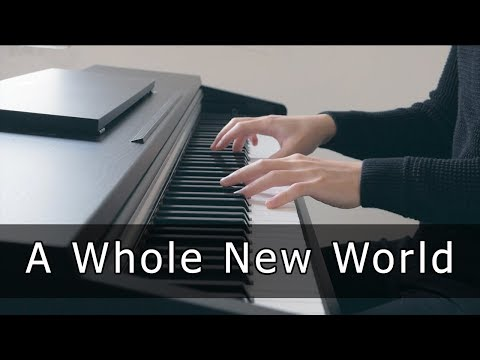 Aladdin - A Whole New World (Piano Cover by Riyandi Kusuma)