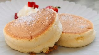 Fluffy Souffle pancakes Recipe | without mixer