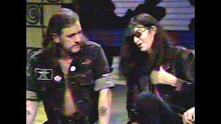 Joey Ramone & Lemmy talk Morrissey 1992