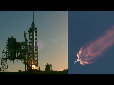 SpaceX Falcon 9 launches Inmarsat-5 F4 satellite, 15 May ...