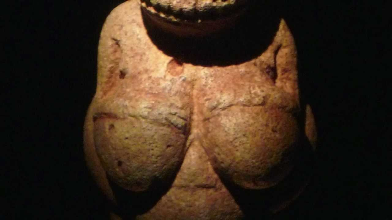 Nude Woman (Venus of Willendorf), c. 28,000-25,000 B.C.E.