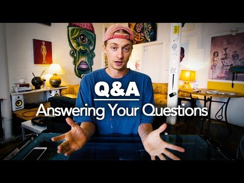 Why Did I Go To ART SCHOOL?   50,000 Subscriber Q&A