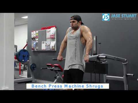 Bench Press Machine Shrugs