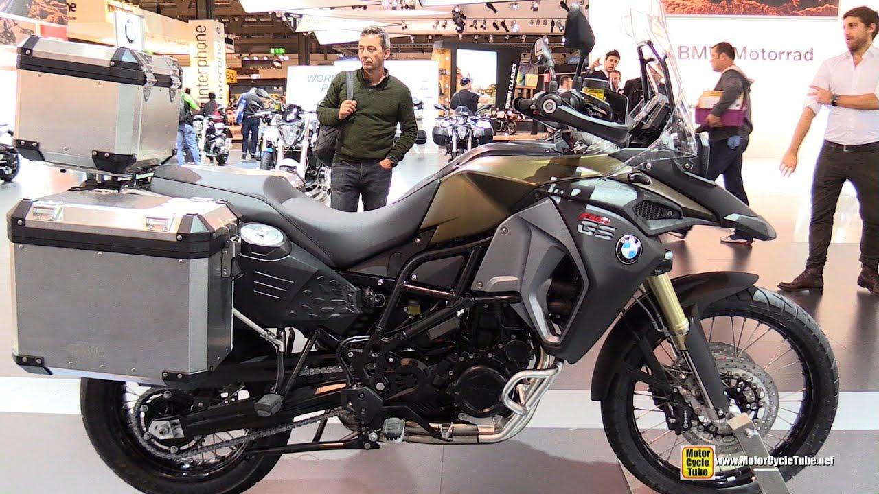 2015 Bmw F800gs Adventure Walkaround 2014 Eicma Milan Motorcycle Exhibition Youtube