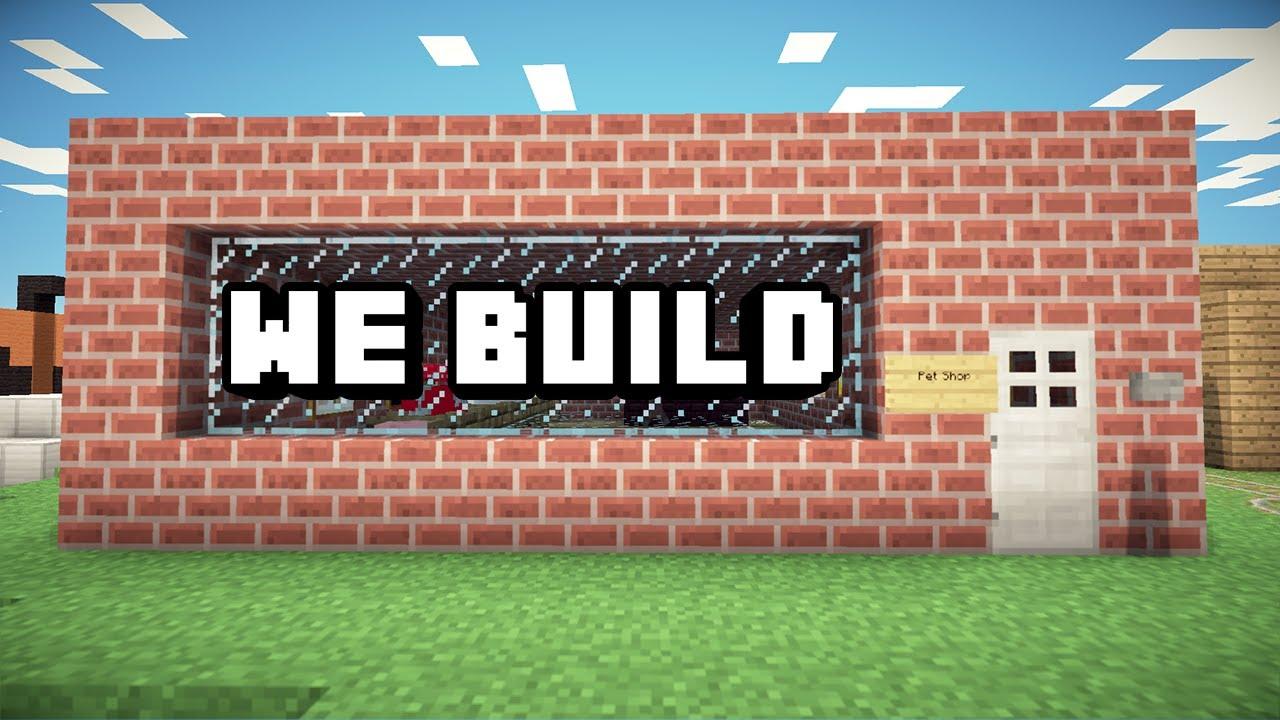 Minecraft How To Build A Pet Shop