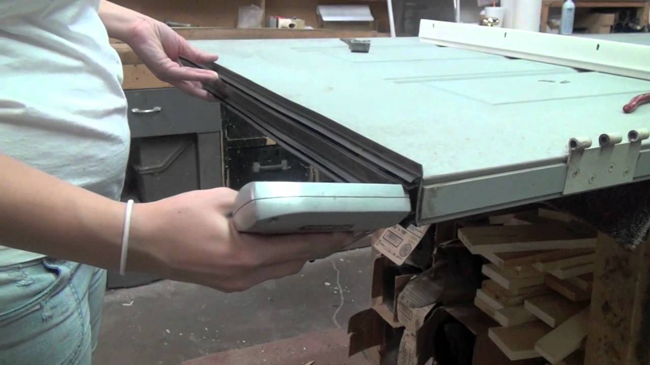 how to replace door bottoms sweeps youtube