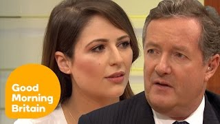 Piers Morgan Clashes With Guest Over Dress Code Sexism | Good Morning Britain