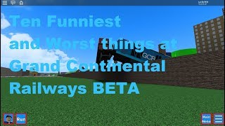 Ten Funniest and Worst things to do on ROBLOX GCR BETA