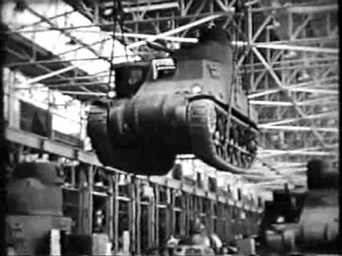 """TANKS"" WW II FILM 1942  ORSON WELLES NARRATOR, JACK SHAINDLIN COMPOSER"
