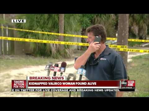 LIVE: Kidnapped Valrico woman found alive