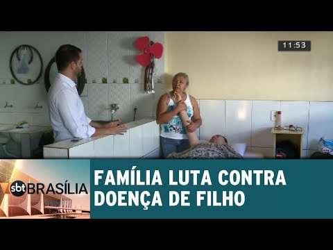 Família luta contra doença de filho   SBT Brasília 14/08/2018