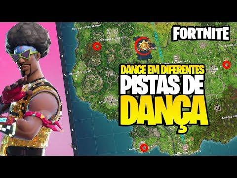 DANCE EM DIFERENTES PISTAS DE DANÇA E VASCULHE ENTRE 3 BARCOS! FORTNITE MOBILE - 동영상