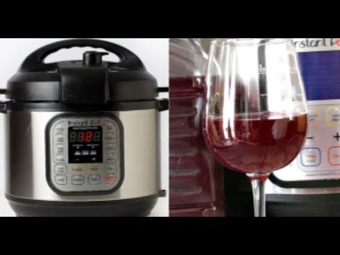 Aly - You Can Make Wine In Your Instant Pot!