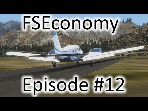FSX | FSEconomy - Ep. #12 - Julian, CA to Twentynine Palms, CA & Back