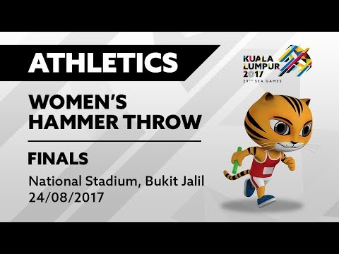 KL2017 29th SEA Games | Athletics - Women's Hammer Throw FINALS | 24/08/2017