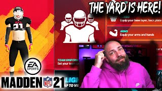 THE YARD IS HERE! TUTORIAL AND CUSTOMIZATIONS FOR MADDEN 21 MOBILE!