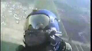 Comedian Jimmy Carroll Flight With the Blue Angels