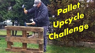 Pallet Upcycle Challenge 2014 - Woodworking
