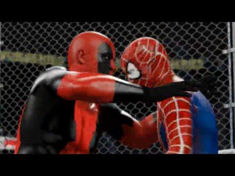 WWE 2K16 - Deadpool Vs. Spiderman