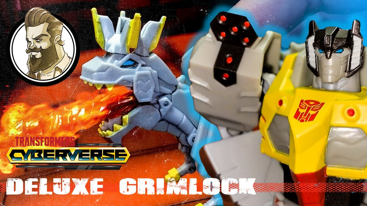 Cyberverse Deluxe Grimlock Review by Ham Man