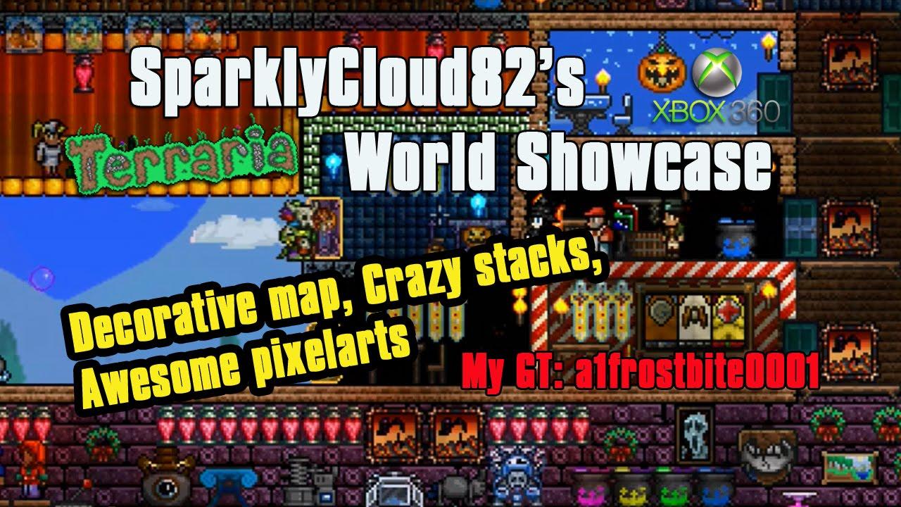 SparklyCloud82\'s Xbox 360 Terraria Showcase| Pixel Art, Decorative ...