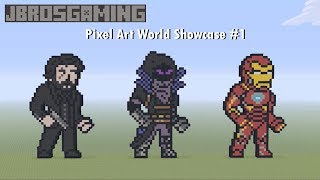 JBrosGaming Pixel Art World Showcase and Channel Update #1