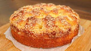 Бабушке понравился БОЛЬШЕ чем ТОРТ а готовится в 100 раз ПРОЩЕ МЯГКИЙ КАК ПУХ сахарный пирог