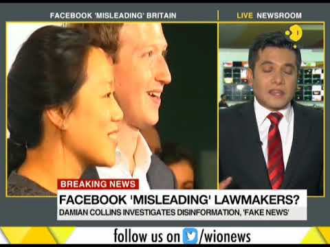 Mark Zuckerberg and Facebook under fire from UK politicians over data controversy